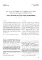 prikaz prve stranice dokumenta Prikaz  organizacije hitne laboratorijske dijagnostike pri operacijama kardioloških bolesnika