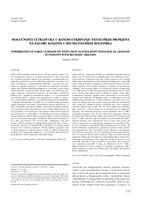 prikaz prve stranice dokumenta MOGUĆNOSTI ULTRAZVUKA U RANOM OTKRIVANJU PATOLOŠKIH PROMJENA NA ZGLOBU KOLJENA U REUMATOLOŠKIH BOLESNIKA