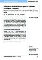 prikaz prve stranice dokumenta Miniperkutana nefrolitotripsija u liječenju bubrežnih kamenaca