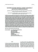 prikaz prve stranice dokumenta KLINIČKO ZNAČENJE LIJEČENJA ANEMIJE U BOLESNIKA S KRONIČNOM BUBREŽNOM BOLESTI