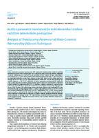 prikaz prve stranice dokumenta Analiza parametra translucencije staklokeramike izrađene različitim tehnološkim postupcima