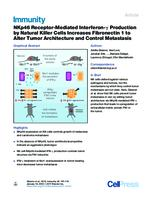 prikaz prve stranice dokumenta NKp46 Receptor-Mediated Interferon-γ Production by Natural Killer Cells Increases Fibronectin 1 to Alter Tumor Architecture and Control Metastasis