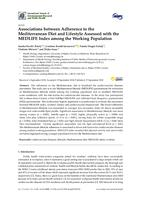 prikaz prve stranice dokumenta Associations between Adherence to the  Mediterranean Diet and Lifestyle Assessed with the  MEDLIFE Index among theWorking Population