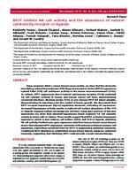prikaz prve stranice dokumenta BPTF inhibits NK cell activity and the abundance of natural cytotoxicity receptor co-ligands