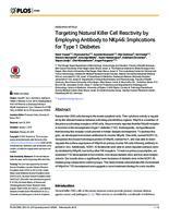 prikaz prve stranice dokumenta Targeting Natural Killer Cell Reactivity by Employing Antibody to NKp46: Implications for Type 1 Diabetes