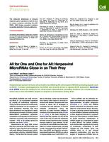 prikaz prve stranice dokumenta All for One and One for All: Herpesviral MicroRNAs Close in on Their Prey