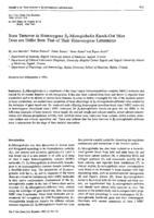 prikaz prve stranice dokumenta Bone Turnover in Homozygous ß2-Microglobulin Knock-Out Mice Does not Differ from That of Their Heterozygous Littermates