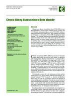 prikaz prve stranice dokumenta Chronic kidney disease mineral bone disorder
