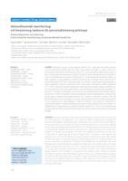 prikaz prve stranice dokumenta Hemodinamski monitoring: od invazivnog nadzora do personaliziranog pristupa
