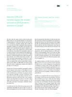 prikaz prve stranice dokumenta Does the CCR5-Δ32 mutation explain the variable coronavirus-2019 pandemic statistics in Europe?